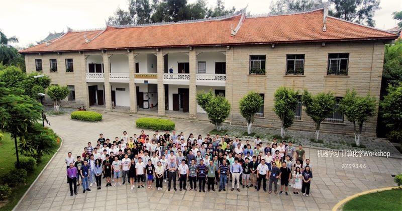 吴妃锋、杨家强参加2019年机器学习-计算化学 Workshop