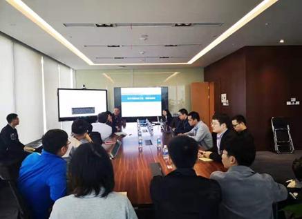 陈蓉教授应邀访问深圳华为公司总部