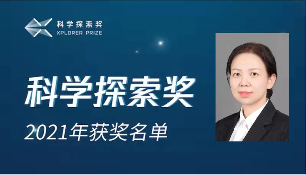 """陈蓉教授喜获""""科学探索奖"""",湖北唯一!"""